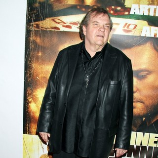 Meat Loaf in Twentieth Century Fox and New Regency Celebrate The World Premiere of Runner, Runner
