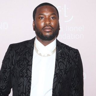 Meek Mill in Rihanna's 4th Annual Diamond Ball