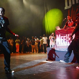 Meek Mill in Meek Mill Performing During His Dream and Nightmare Tour