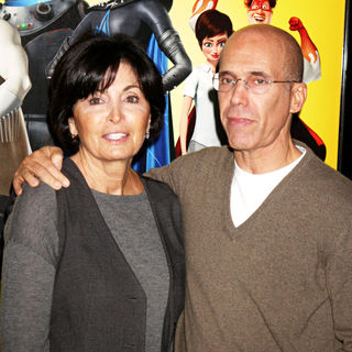 Marilyn Katzenberg, Jeffrey Katzenberg in Los Angeles Premiere of 'Megamind'