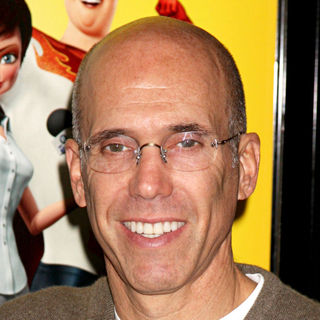 Jeffrey Katzenberg in Los Angeles Premiere of 'Megamind'