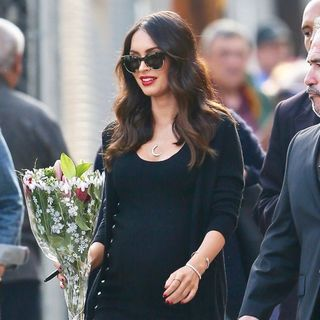 Megan Fox Seen Leaving The ABC Studios