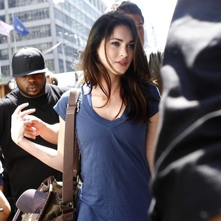Megan Fox in On The Set of The Dictator Filming in Manhattan