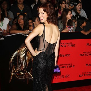 Megan Hayes in The Hunger Games: Catching Fire Premiere