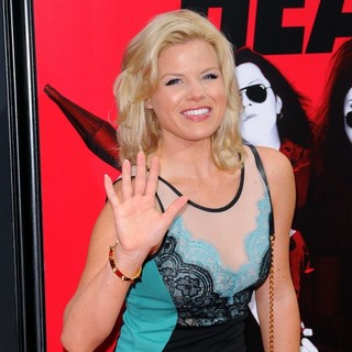 Megan Hilty in New York Premiere of The Heat - Red Carpet Arrivals