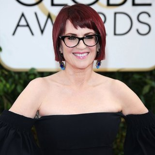 Megan Mullally in 71st Annual Golden Globe Awards - Arrivals