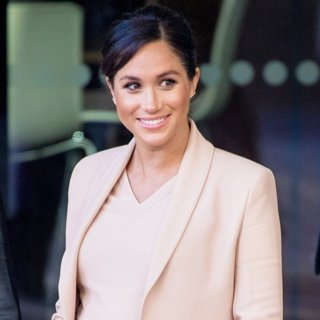 The Duchess of Sussex Makes Her First Visit to The National Theatre