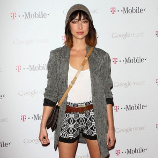 Mei Melancon in Celebrity Magenta Carpet Arrivals at The Launch Party for Google Music Available on T-Mobile