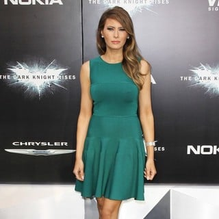 Melania Trump in The Dark Knight Rises New York Premiere - Arrivals