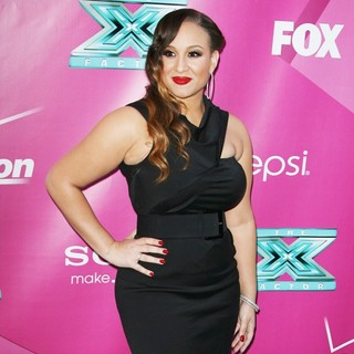 Melanie Amaro in The X Factor Season Two Premiere Screening and Handprint Ceremony - melanie-amaro-the-x-factor-season-two-premiere-03