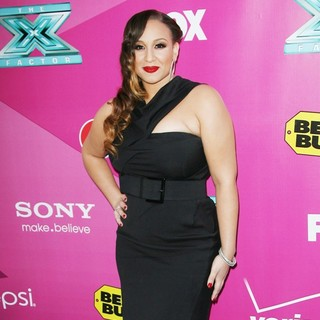Melanie Amaro in The X Factor Season Two Premiere Screening and Handprint Ceremony