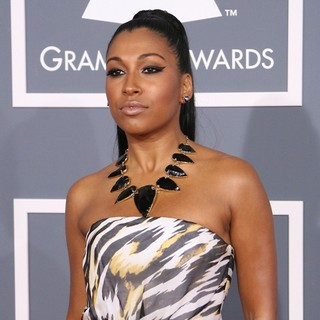 Melanie Fiona in 54th Annual GRAMMY Awards - Arrivals