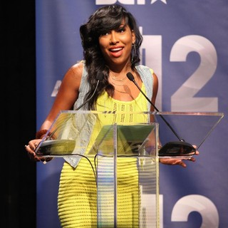 Melanie Fiona in BET Awards 12 Nominations Press Conference