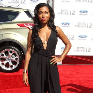 Melanie Fiona in The BET Awards 2012 - Arrivals
