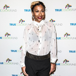 Melanie Fiona in Cyndi Lauper and Friends: Home for The Holiday's Concert - Arrivals