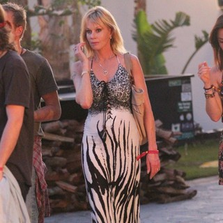 Melanie Griffith in Celebrities at The 2012 Coachella Valley Music and Arts Festival - Week 2 Day 1