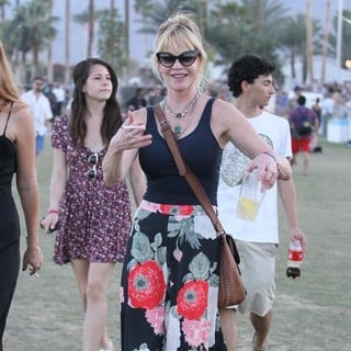 Melanie Griffith in Celebrities at The 2012 Coachella Valley Music and Arts Festival - Week 2 Day 2