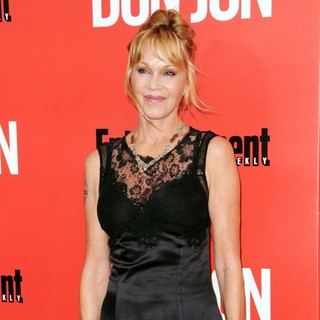 Melanie Griffith in New York Premiere of Don Jon - Red Carpet Arrivals