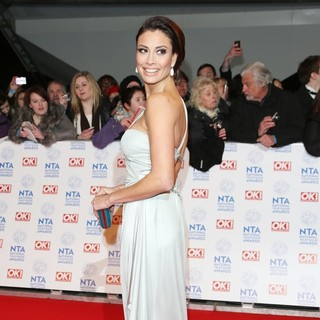 Melanie Sykes in National Television Awards 2013 - Arrivals