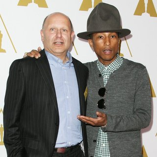 Christopher Meledandri, Pharrell Williams in The 86th Oscars Nominees Luncheon - Arrivals