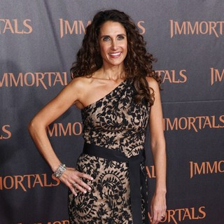Melina Kanakaredes in Immortals 3D Los Angeles Premiere