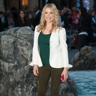 Melinda Messenger in U.K. Premiere of Noah - Arrivals