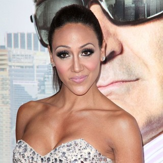 Melissa Gorga in Tyler Perry's Madea's Witness Protection New York Premiere