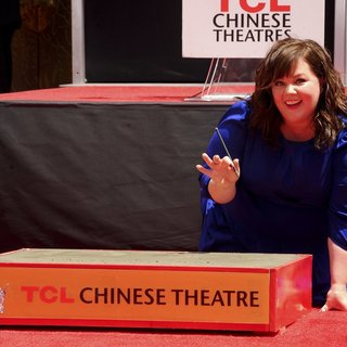 Melissa McCarthy in Melissa McCarthy's Hand and Footprint Ceremony