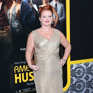Melissa McMeekin in American Hustle New York Premiere