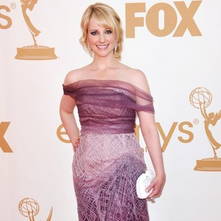 Melissa Rauch in The 63rd Primetime Emmy Awards - Arrivals