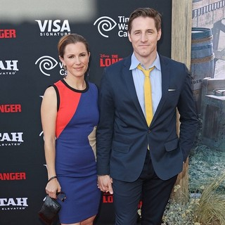 Amber Marie Mellott, Sam Jaeger in The World Premiere of Disney-Jerry Bruckheimer Films' The Lone Ranger
