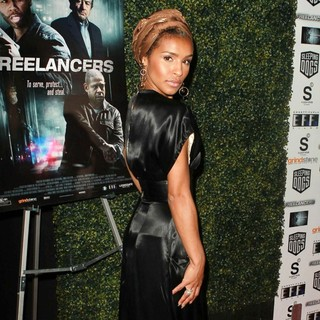 Melody Thornton in The Lionsgate Home Entertainment and Grindstone VIP Screening of Freelancers