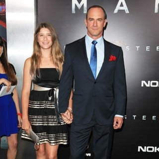 Sophia Eva Pietra Meloni, Christopher Meloni in World Premiere of Man of Steel - Arrivals