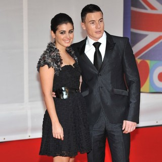 Katie Melua, James Toseland in The BRIT Awards 2012 - Arrivals