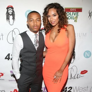 Bow Wow, Erica Mena in Wendy Williams 50th Birthday Party
