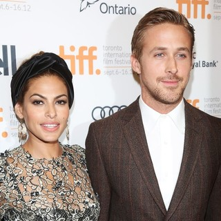 Eva Mendes, Ryan Gosling in The 2012 Toronto International Film Festival - The Place Beyond the Pines - Premiere