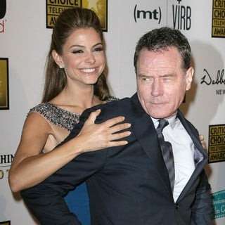 Maria Menounos, Bryan Cranston in Broadcast Television Journalists Association's 3rd Annual Critics' Choice Television Awards