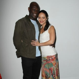 Peter Mensah, Marisa Ramirez in Visual Impact Now Charity Event