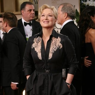 Meryl Streep in The 69th Annual Golden Globe Awards - Arrivals