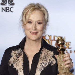 Meryl Streep in The 69th Annual Golden Globe Awards - Press Room