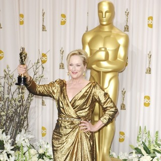 Meryl Streep in 84th Annual Academy Awards - Press Room