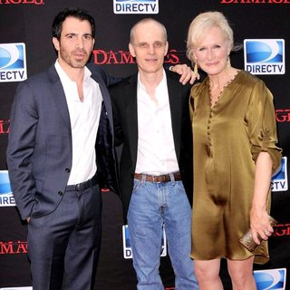 Chris Messina, Zeljko Ivanek, Glenn Close in Damages Season 4 Premiere - Arrivals