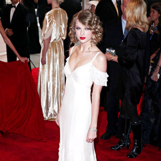 Taylor Swift in The Costume Institute Gala Benefit