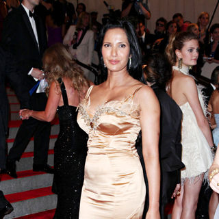 Padma Lakshmi in The Costume Institute Gala Benefit