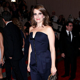Tina Fey in The Costume Institute Gala Benefit