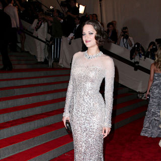 Marion Cotillard in The Costume Institute Gala Benefit