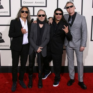 Metallica - The 56th Annual GRAMMY Awards - Arrivals