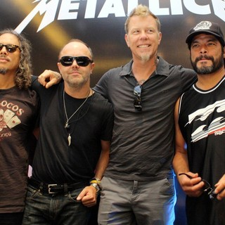 Metallica in Metallica Hold A Press Conference