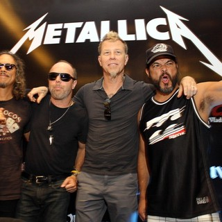 Metallica - Metallica Hold A Press Conference