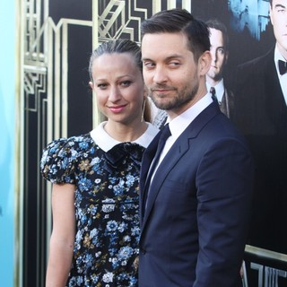 Jennifer Meyer, Tobey Maguire in Premiere of The Great Gatsby